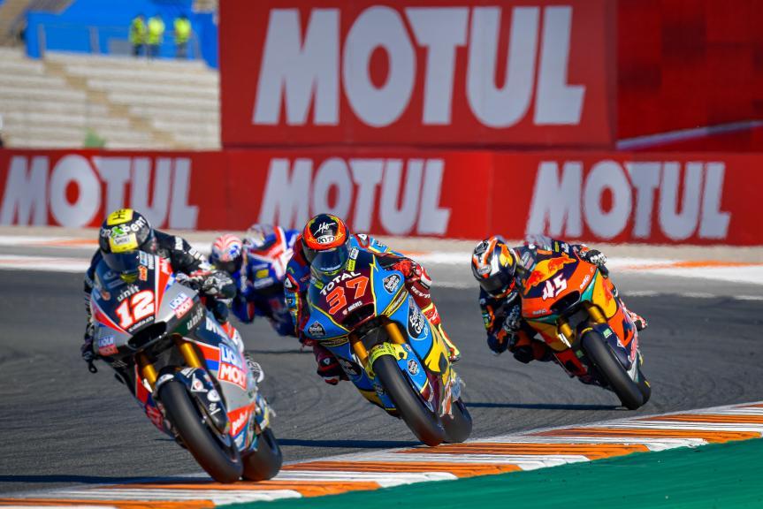 Augusto Fernandez, Tetsuta Nagashima, Gran Premio Motul de la Comunitat Valenciana