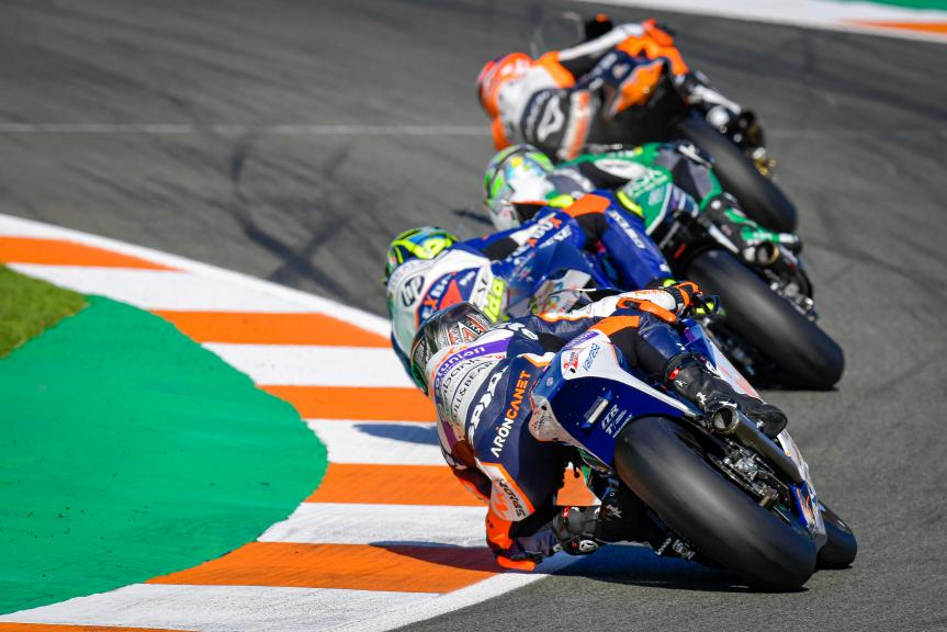 Aron Canet, Inde Aspar Team Moto2, Gran Premio Motul de la Comunitat Valenciana