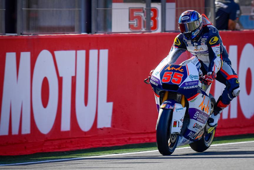 Hafizh Syahrin, Inde Aspar Team Moto2, Gran Premio Motul de la Comunitat Valenciana