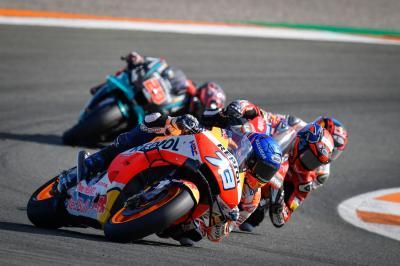 Die Highlights vom ValenciaGP in Superzeitlupe
