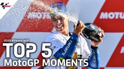 Die Top 5 Momente aus dem MotoGP™-Rennen des ValenciaGP