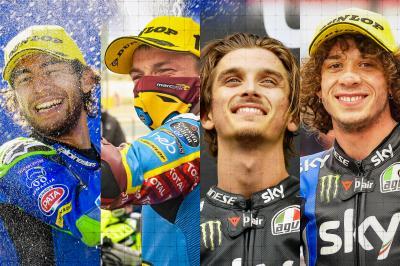 Moto2™: Vier Fahrer, eine Krone und ein völlig neue Strecke