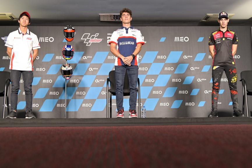Moto3, Press-Conference, Grande Prémio MEO de Portugal