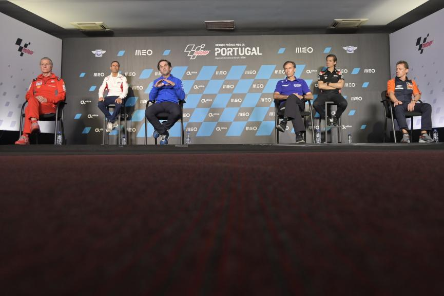 Team Manngers Press-Conference, Grande Prémio MEO de Portugal