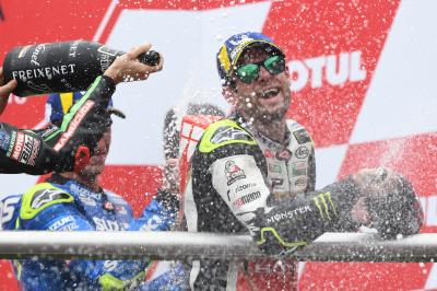 """It's been a privilege to do what I've done"" - Crutchlow"