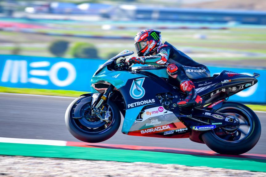 Fabio Quartararo, Petronas Yamaha SRT, Grande Prémio MEO de Portugal