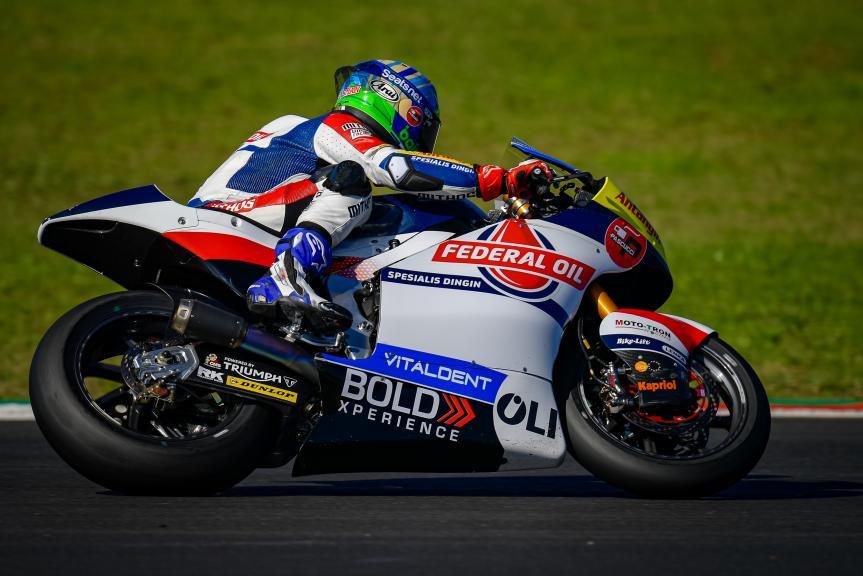 Edgar Pons, Federal Oil Gresini Moto2, Grande Prémio MEO de Portugal