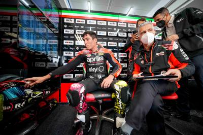 'Lack of full throttle acceleration helping Aprilia' - Aleix