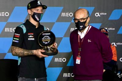 Quartararo, Lowes & Fernandez win Tissot Pole of Poles award