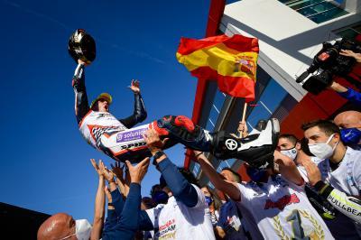 Albert Arenas is the 2020 Moto3™ World Champion