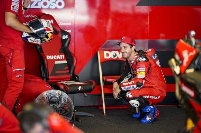 Ciao for now! Dovizioso says goodbye to Ducati