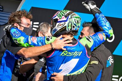 Enea Bastianini is the 2020 Moto2™ World Champion