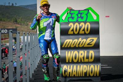 Bastianini, Champion du Monde Moto2™ 2020