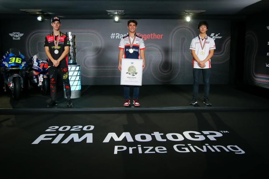 2020 FIM MotoGP™ Prize Giving