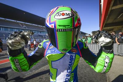 Bastianini crowned Champion in tense finale as Gardner wins