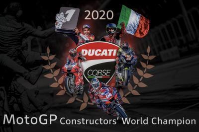 Ducati clinch their first Constructors title since 2007