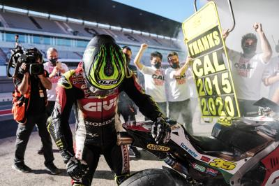 Crutchlow looks ahead to 2021 after bowing out of MotoGP™