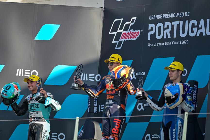 Dennis Foggia, Raul Fernandez, Jeremy Alcoba, Grande Prémio MEO de Portugal