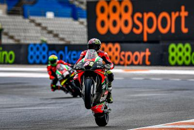 Savadori and Smith retained by Aprilia for 2021