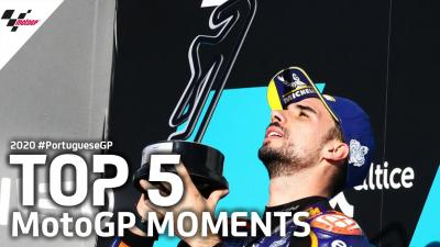 Top 5 MotoGP Moments | 2020 #PortugueseGP