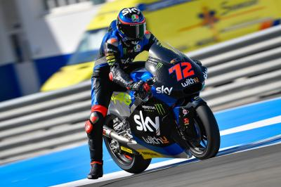 Moto2™ riders land in Jerez for private testing