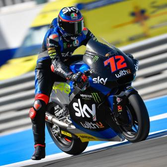 Moto2™-Fahrer starten in Jerez private Tests für 2021