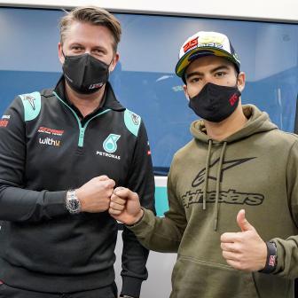 Eric Granado & WithU Motorsport bestreiten 2021 die MotoE™