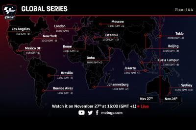 eSport MotoGP™ - Global Series: Dónde ver el Round final