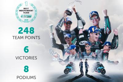 Petronas Yamaha SRT: Independent Team Champions again