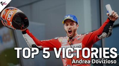 Las 5 mayores victorias de Andrea Dovizioso