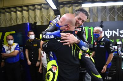 Last Dance Sunday sees emotion up and down MotoGP™ pitlane