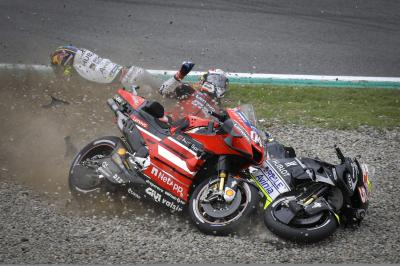 MotoGP™ 2020 falls report: who crashed the most?