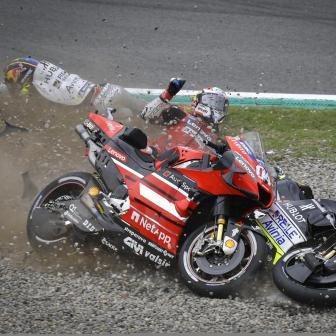 MotoGP™ 2020 Sturz-Bericht: Wer ist am meisten gestürzt?