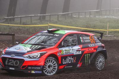 Morbidelli à la découverte du WRC !