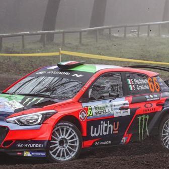Morbidelli tauscht bei der Monza WRC zwei Räder gegen vier
