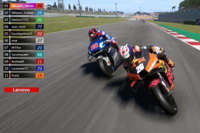 eSport MotoGP™: The best of 2020