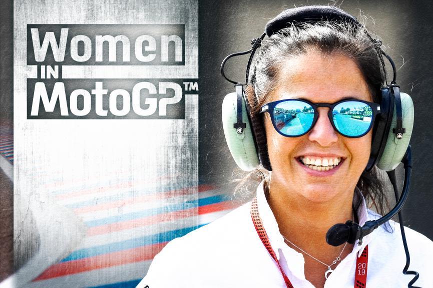 Woman In MotoGP - Norma