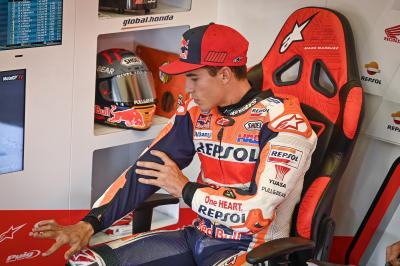 Update on Marc Marquez