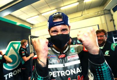 Unseen: Quartararo und Petronas SRT feiern ihren Doppelsieg