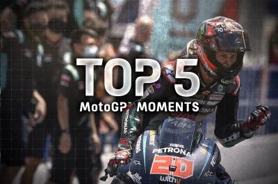 Top 5 moments of the 2020 #SpanishGP