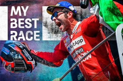 Was Mugello 2019 Petrucci's best race?