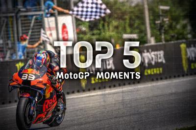 Top 5 MotoGP Moments of the #CzechGP