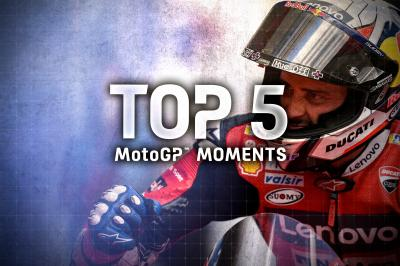 Top 5 MotoGP Moments of the #AustrianGP