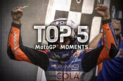 Top 5 MotoGP Moments from the 2020 Styrian GP