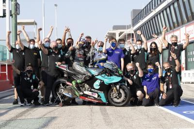Unseen: Morbidelli feiert mit Petronas SRT den 'Teamsieg'