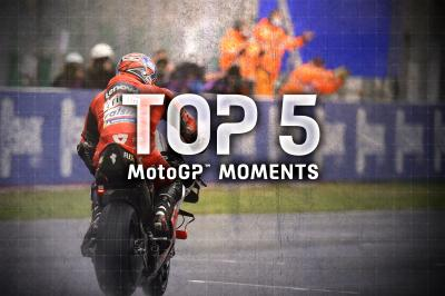 Top 5 MotoGP Moments from the 2020 #FrenchGP