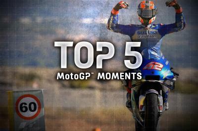 Top 5 MotoGP Moments from the 2020 #AragonGP