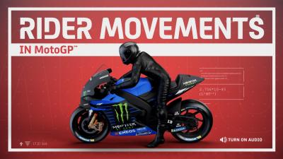 Explained - rider movements on a MotoGP™ machine