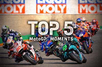 El Top 5 de momentos decisivos del GP de Teruel