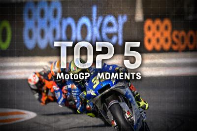 Top 5 MotoGP Moments from the 2020 #EuropeanGP